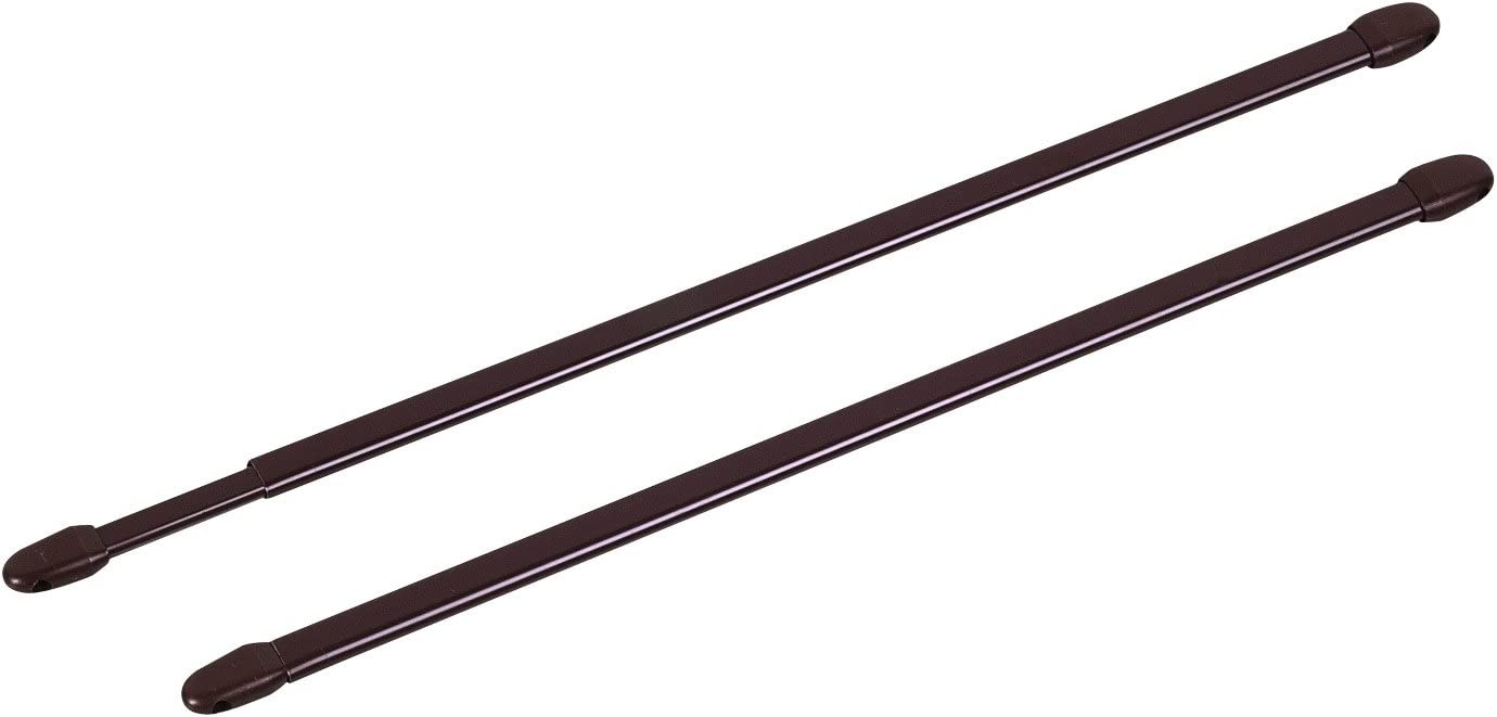 /marrone/ /lunghezza 50/a 80/cm/ /Venduto da 2 Asta allungabile ovale seminari 28/