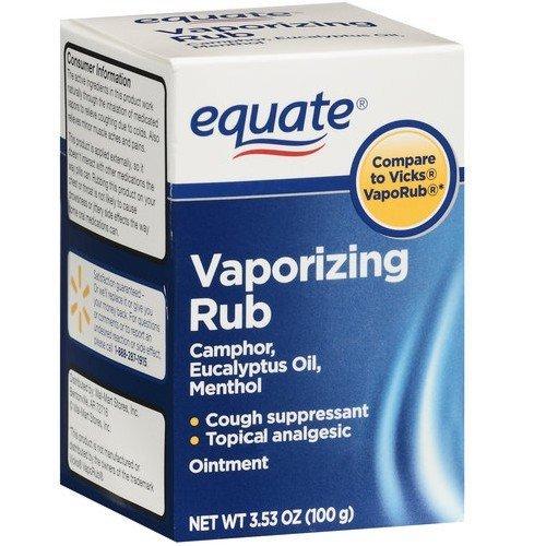 Equate - Vaporizing Rub, 3.53 oz (Compare to other VapoRub) (2)
