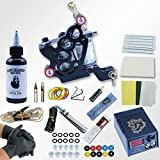 POYING Machine 5 Needles Power Supply Gun Set Exquisite Workmanship Complete Tattoo Kit Equipment With EU UK AU US Plug