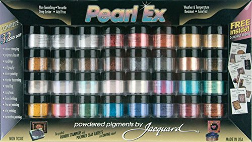 Pigment Set 32-Colors Jacquard Pearl EX Powder (Pigment Sets) New ##bodybuildingbrother by lovithanko