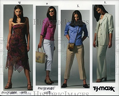 2000 Press Photo Fashion T J  Maxx   Orb13201