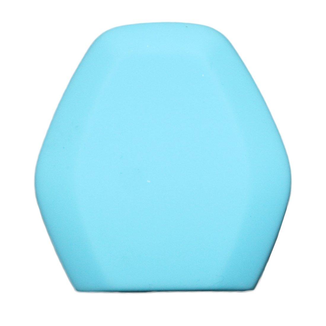 Muchkey Car Funda de llave Funda de silicona Funda de silicona Funda de chaqueta para llave de 2 botones remotos Con cubierta protectora de silicona azul profundo