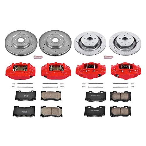 Power Stop KC4138A Z23 Evolution Sport Brake Kit with Calipers