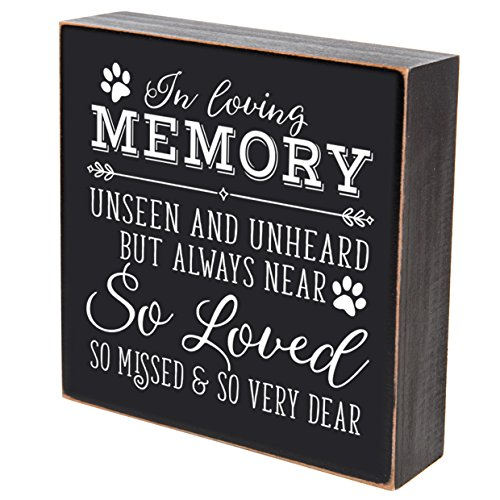 So-Loved-So-Missed-And-So-Very-Dear-loss-of-pet-memorial-gift-keepsake-In-Loving-Memory-shadow-box-6×6-by-LifeSong-Milestones-In-Loving-Memory