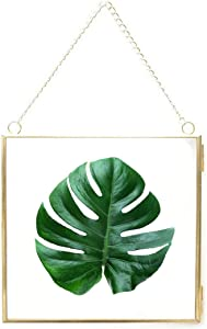 JUSTDOLIFE Hanging Photo Frame DIY Artwork Display Frame Vintage Gallery Wall Frames Wall Mounted Photos Frame 6.3in