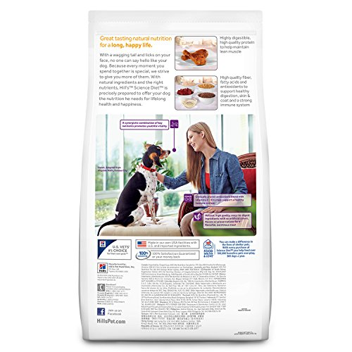 Hill's Science Diet Senior Dog Food, Adult 7+ Active Longevity Chicken Meal Rice & Barley Recipe Dry Dog Food, 33 lb Bag by Hill's Science Diet (Image #5)