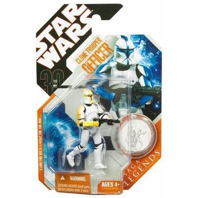 Star Wars Yellow Clone - Star Wars Yellow Clone Trooper Officer wih Coin