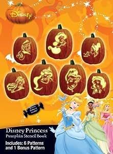 Disney Princesstrade; Pumpkin Stencil Book