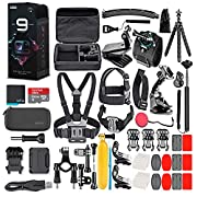 GoPro HERO9 Black – Waterproof Action Camera with Front LCD and Touch Rear Screens, 5K HD Video, 20MP Photos, 1080p Live…