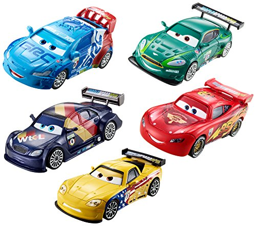 Disney/Pixar Cars Piston Cup Die-Cast Vehicle (5-Pack)