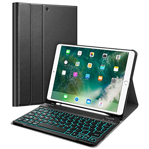 Fintie Keyboard Case with Pencil Holder for iPad Air 3 10.5 2019/iPad Pro 10.5