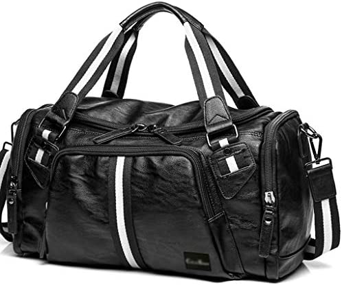 メンズポータブル大容量短距離旅行旅行ダッフルバッグ多機能ゴルフスポーツバッグ大容量デザインブラック HMMSP