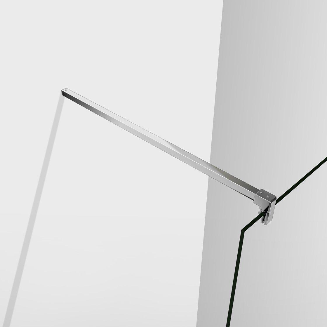 70x200cm Mamparas ducha Panel Pantalla Fija cristal 10mm templado para ba/ño