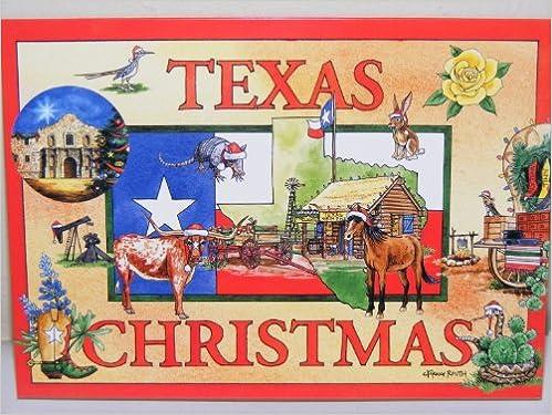 texas christmas15 southern christmas cards envelopesw pecan pie recipe craig routh leslie routh 9781603980708 amazoncom books - Texas Christmas Cards