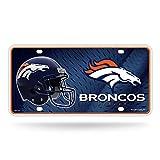 NFL Denver Broncos Metal License Plate Tag