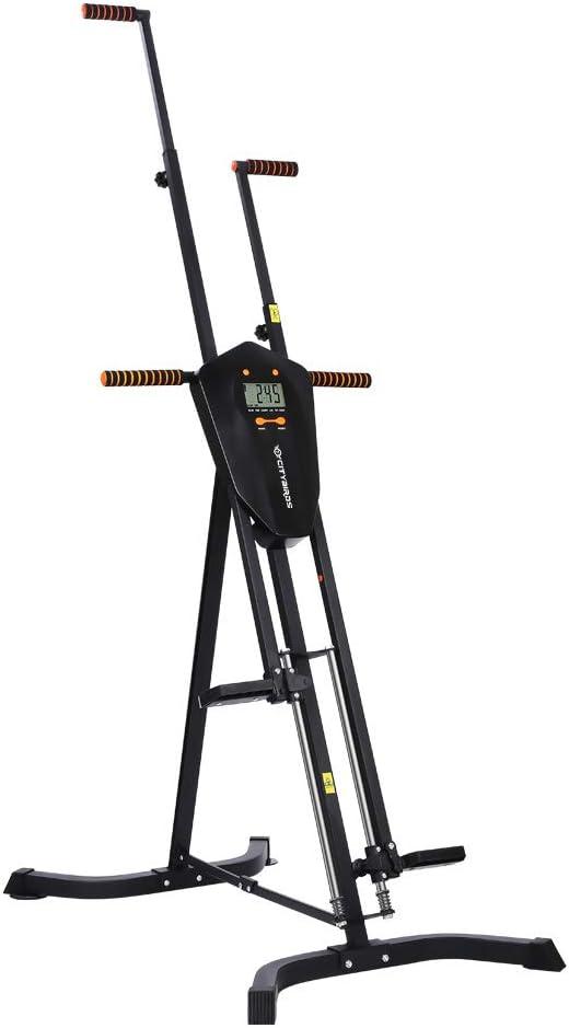 Amazon.com: CITYBIRDS Escaladora vertical, equipo de ejercicio ...