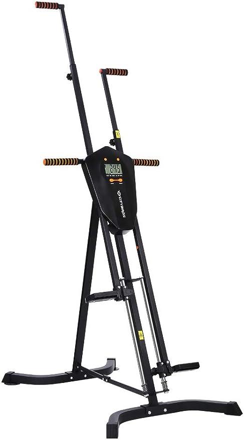 SPORTS ROYALS Sportsroyals escalador vertical, equipo de ejercicio cardiovascular de escalada plegado, entrenamiento de cuerpo completo para mujeres y ...