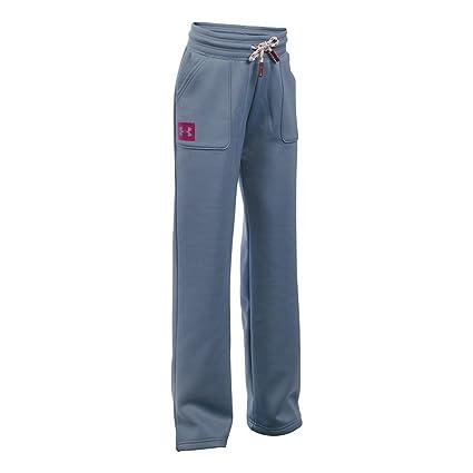 Amazon.com  Under Armour Girls  Armour Fleece Boyfriend Pants ... 82778d7f18