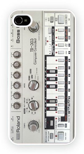 Roland TB-303, iPhone 5 5S, Etui de téléphone mobile - encre brillant impression