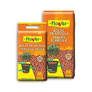 Flower - Bolas de Arcilla 20 l/arlita