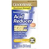 GoodSense Acid Reducer, Ranitidine Tablets, 150 mg