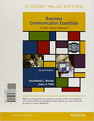 Business communication essentials student value edition plus mylab business communication essentials student value edition plus mylab business communication with pearson etext access card package 7th edition 7th fandeluxe Image collections