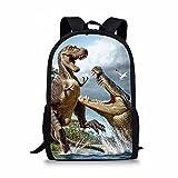 Albertosaurus Print Backpack For Child Girls Kids Book School Bags