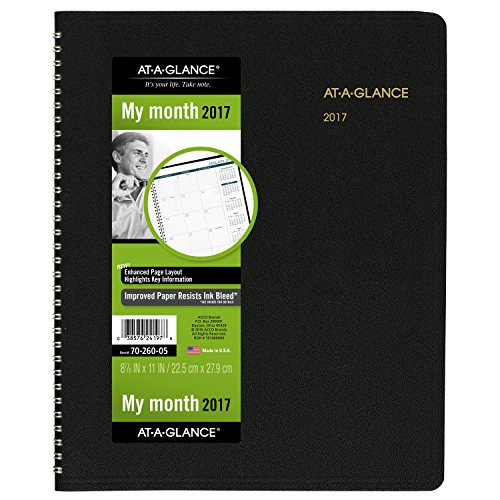 GLANCE Monthly Planner Appointment 70 260 05