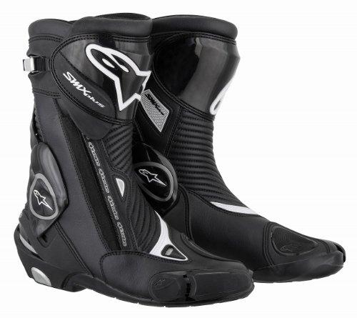 Alpinestars S-MX Plus Boots , Distinct Name: Black, Size: 12, Gender: Mens/Unisex, Primary Color: Black 2221011-10-47