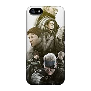For Iphone Case, High Quality Metal Gear Solid For Iphone 5/5s Cover Cases