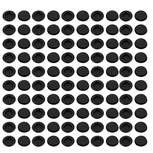 uxcell 100Pcs 18mm Drill Hole Diameter Electrical Rubber Wire Protection Grommet Gasket by uxcell
