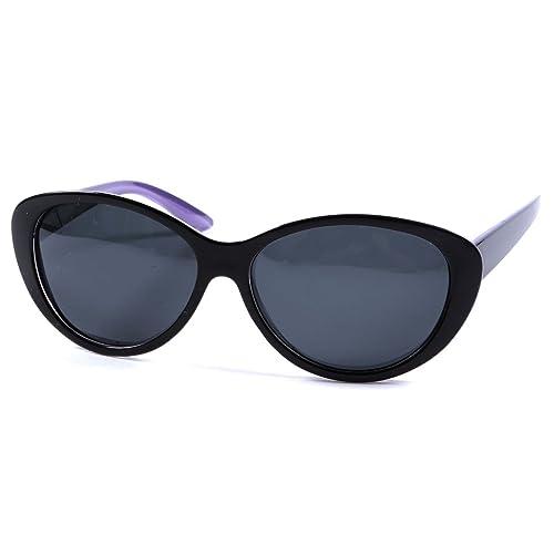 Occhiali da sole da donna, polarizzati, con montatura vintage, 100% protezione UV400, occhiali e cus...