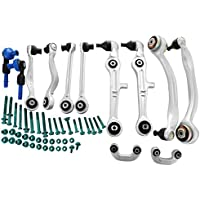 Ceny Control Arm Kit 13Pcs Complete Suspension Kit Front Rear Control Arms Left Right For Audi A4 B6 8E B7Seat Exeo Lift Suspension Wishbone