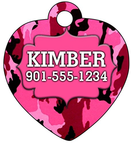 Pink Camo Dogs Personalized Number product image