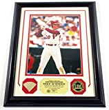 Mike Schmidt Game Used Collection HOF 1995 Photo Bat Coin Highland Mint DF024880 - MLB Game Used Bats