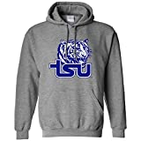 NCAA Tennessee State Tigers Long Sleeve Hoodie, XX-Large, Athletic Heather