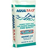 AquaSalt Swimming Pool and Spa Chlorine Generator Salt - 40 Pounds
