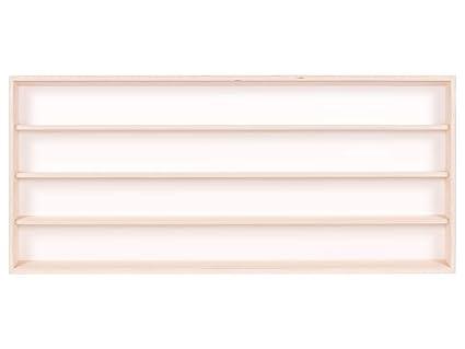 Ante Scorrevoli In Plexiglass.Alsino V100 4 Vetrina Espositiva 100 X 39 X 8 5 Cm In Legno Di