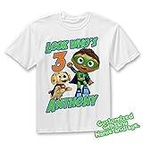 Super Why Family Birthday Shirt, Super Why Custom Shirt, Personalized Super Why Shirt, Super Why family shirts, Super Why Birthday t-shirts