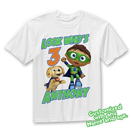Super Why Family Birthday Shirt, Super Why Custom Shirt, Personalized Super Why Shirt, Super Why family shirts, Super Why Birthday t-shirts by Party Style Store