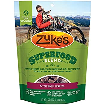 Zuke's SuperFood Blend With Bold Berries Dog Treats - 6 oz. Pouch