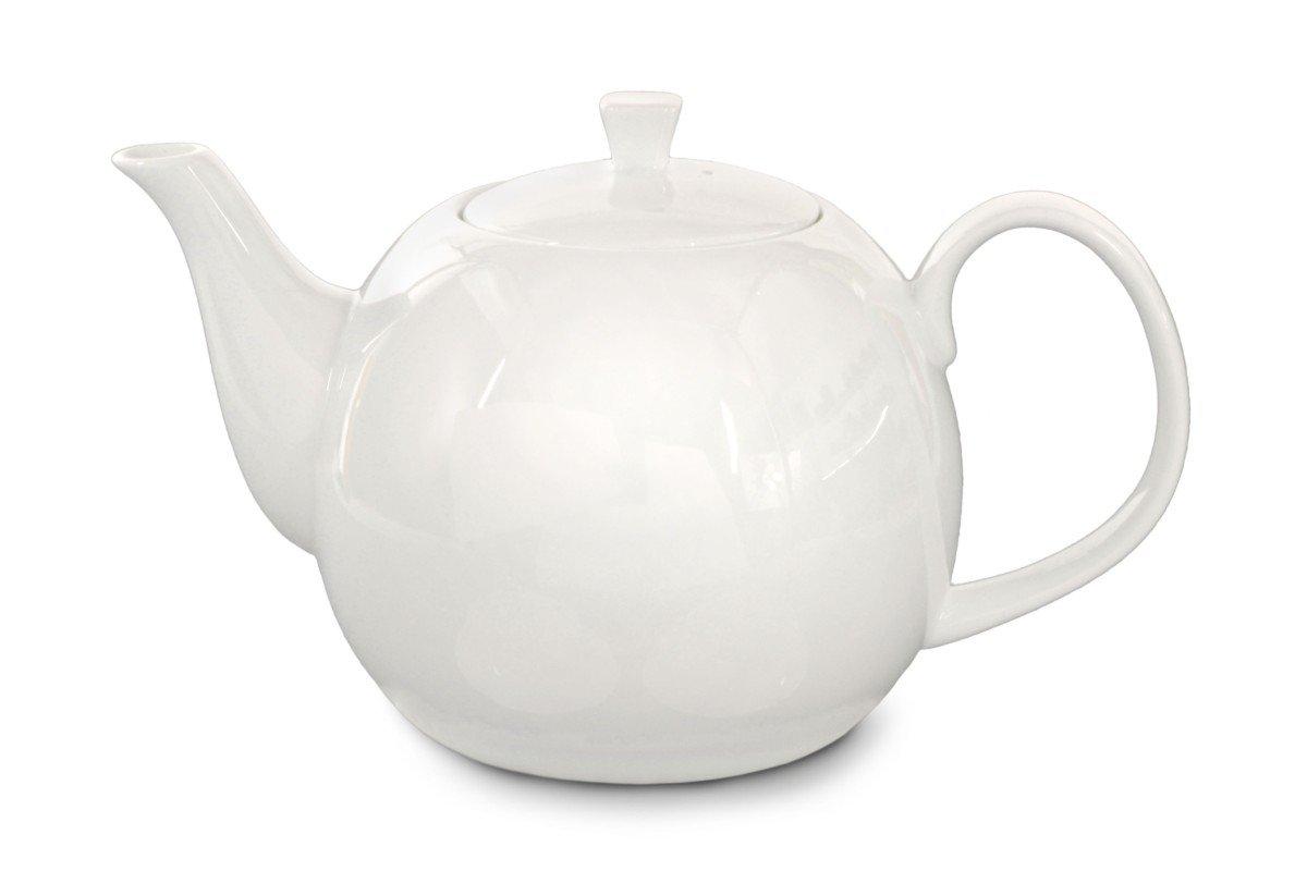 Weiße Teekanne buchensee porzellan teekanne kanne 1500ml bone china in weiß
