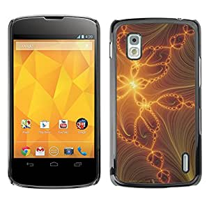 Hot Style Cell Phone PC Hard Case Cover // M00000386 Abstract Colourful Painting Pattern // LG NEXUS 4