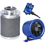 Hyper Fan 8 + Phresh 8 x 24 Carbon Filter Combo Package
