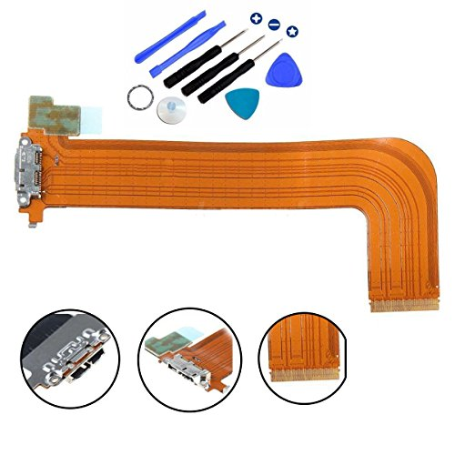 (Eaglestar Dock Connector Charger Flex Ribbon Cable Replacement for Samsung Galaxy Note Pro 12.2 P900 P901 P905)