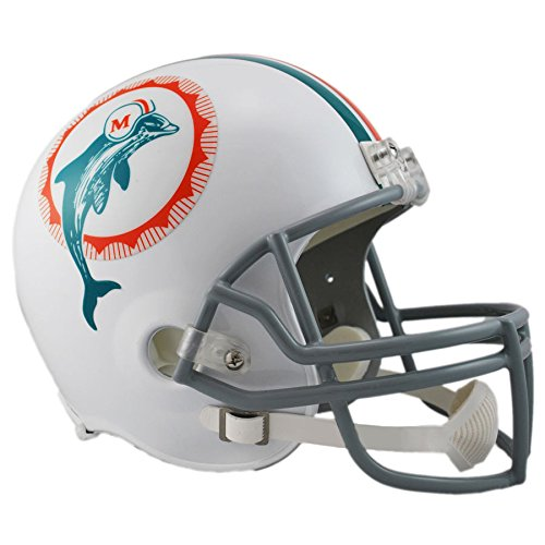 Miami Dolphins 1972 Officially Licensed Replica Throwback Football Helmet