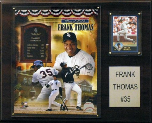C&I Collectables MLB Chicago White Sox Frank Thomas 12x15-Inch Player Plaque
