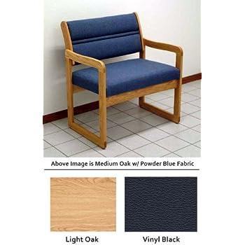 Amazon.com : Heavy Duty DWBA1-1 Sled Base Bariatric Chair in ...