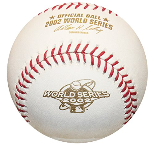 (Rawlings 2002 World Series Official MLB Game Baseball - Anaheim Angels)