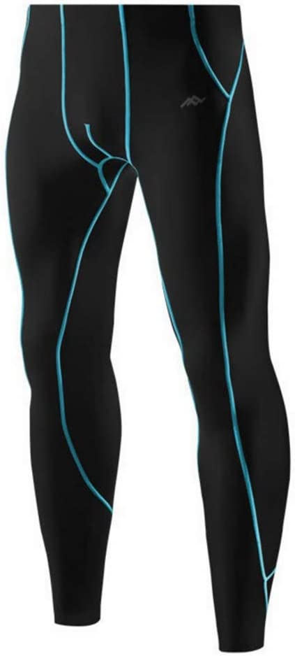 ROLANDBOT Herren Compression Hosen Bike Pants Lange Padded Fahrradhose atmungsaktiv Gamaschen Thermal-Kleidung for M/änner